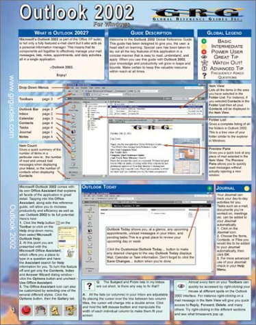 Outlook 2002 for Windows XP: Quick Reference Guide pdf epub