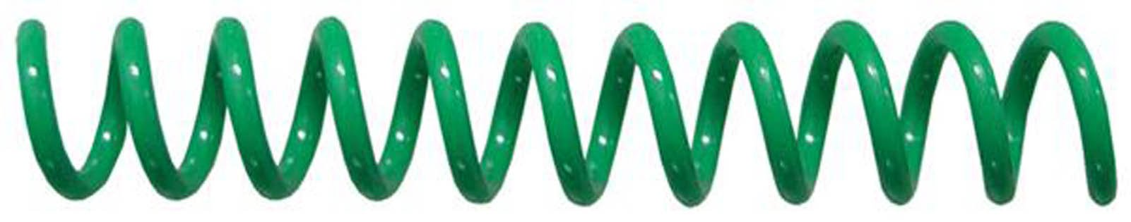 7mm (9/32) Green Coil Bindings (Qty 100) Color: Green, Model: , Office/School Supply Store