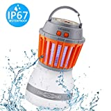 DILISENS Bug Zapper Mosquito Killer Camping Lamp 2 IN 1 Electronic Insect Killer Light via USB Charging