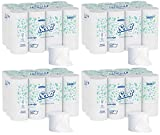 Scott 04007 Coreless 2-Ply Roll Bathroom Tissue, 1000 Sheets Per Roll (4 Case of 36 Rolls)