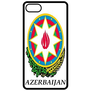Azerbaijan - Coat Of Arms Flag Emblem Black Apple Iphone 4 - Iphone 4s Cell Phone Case - Cover