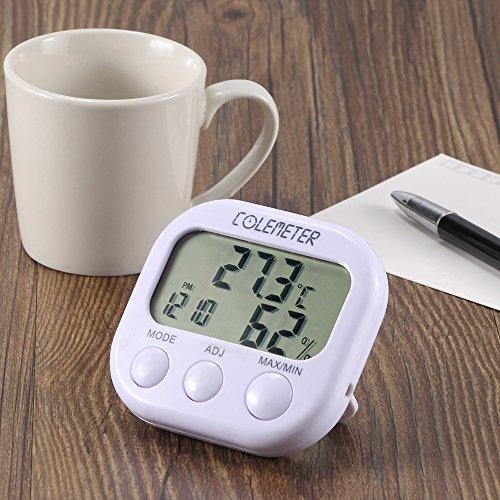 COLEMETER Thermo Hygrometer Digital Thermometer Feuchtigkeit Messgerät Thermo-Hygrometer Raumluftüberwachtung