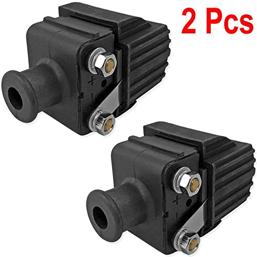 CBK 2Pcs Ignition Coil for Mercury & Mariner 6 8 9.9 10 15 18 20 25 30 35 40 45 50 55 60 70 75 80 90 115 135 150 175 200 hp 339-7370A13 339-832757A4 339-8327 18-5186 184-0001