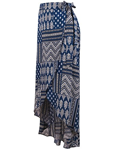 Vessos - Falda - envolvente - para mujer Azul