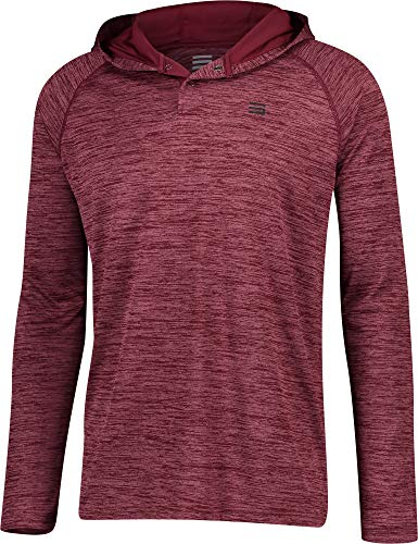 Three Sixty Six Mens Hoodies Pullover – Long Sleeve Casual Hoodie for Men – Lightweight Thin Hooded Sweater T Shirt