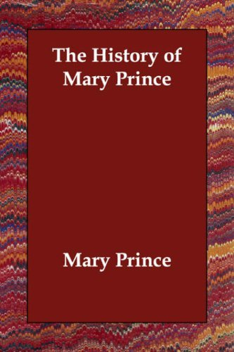 The History of Mary Prince pdf