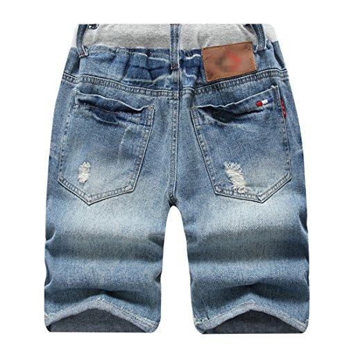8981711f90 LOKTARC Boys' Ripped Frayed Pull-On Denim Shorts | Weshop Vietnam
