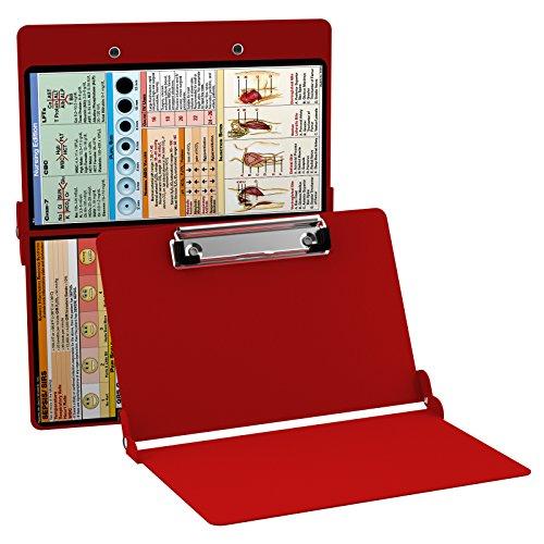 WhiteCoat Clipboard- Red - Nursing Edition by WhiteCoat Clipboard