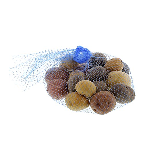 Royal Blue Plastic Mesh Produce and Seafood, 24