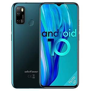Mobile Phones SIM Free Unlocked, 4GB RAM 64G ROM, Ulefone Note 9P, Triple Card Slots, 16MP Quad Camera, Android 10…