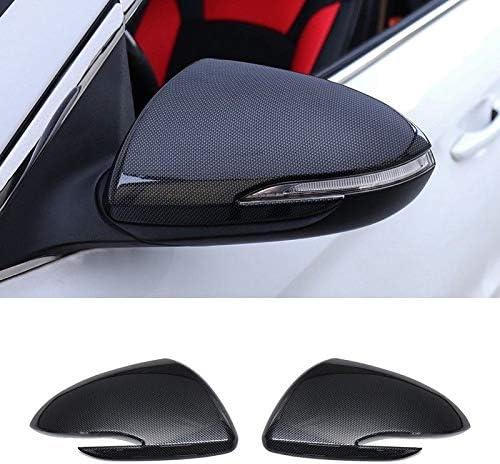 Carbon Fiber Rearview Mirrors Cover Trim For Hyundai Elantra 2017-2018