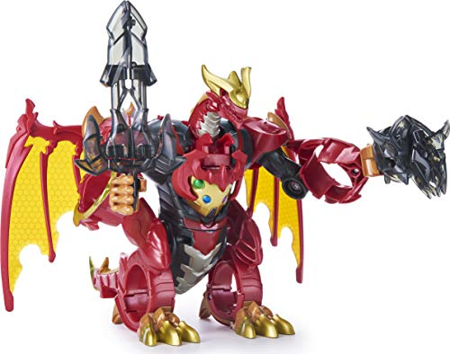 Bakugan, Dragonoid Infinity Transforming Figure with Exclusive Fused Ultra and 10 Baku-Gear Accessories