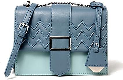 Dig dog bone Womens Crossbody Bag Leather Shoulder Crossbody Color Bag Small Square Bag Multi-Purpose Trend Shoulder Bag