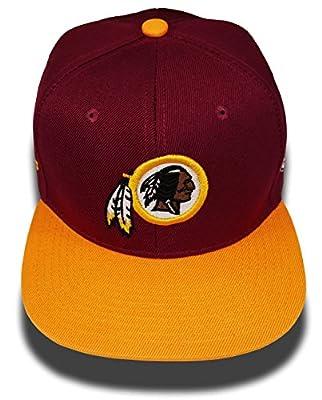 C-2 Stitch Washington Redskins Glow in The Dark Snapback Hats