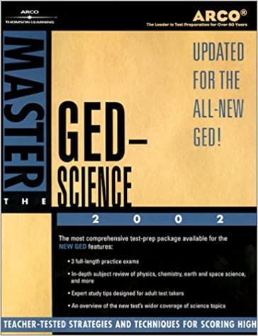 Master the GED Science 2002 (Arco Master the GED Science)