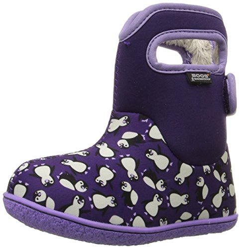 Winter Grape Boot Baby Classic Bogs Multi Penguins Snow qHatnvw