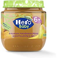 Hero Baby Mandarin And Banana With Pear, 125 gm