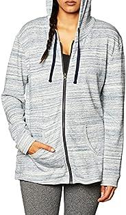 Hanes Women's Jersey Full Zip Ho