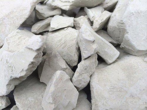 BENTONITE edible Clay chunks (lump) natural for eating (food), 1 lb (450 g) (Bentonite Clay Chunks)