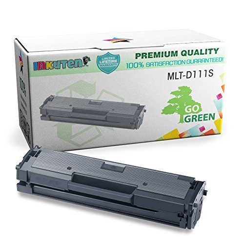 inkuten tm compatible samsung mlt d111s black laser toner cartridge for samsung xpress sl m2020w. Black Bedroom Furniture Sets. Home Design Ideas