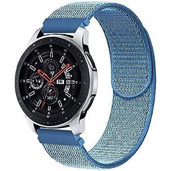 Amazon.com: 22mm Universal Watch Band, CNYMANY Soft Nylon ...