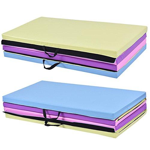 New Folding Excersize Mat Gymnastics Mat Folding Pu Panel