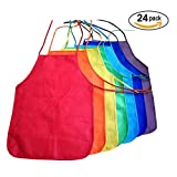 Dazzling Toys Children's Artists Aprons 24 Pack (D191/3)