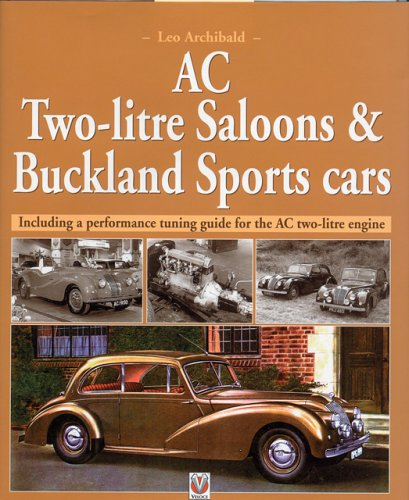 AC Two-Litre Saloon and DHC and Buckland Sportscars