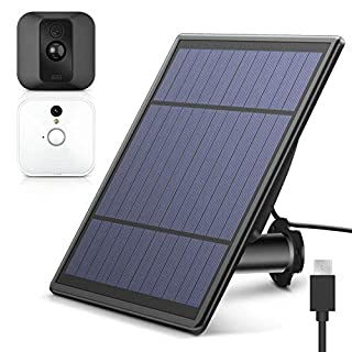 [Upgraded Version] Solar Panel for Blink XT XT 2 Security Camera, Wall Mount Outdoor Weather Proof Solar Power Charging Panel for Blink XT XT 2 Home Security Camera System