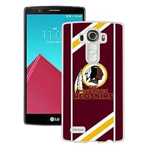 Washington Redskins 08 White Personalized Recommended Custom LG G4 Phone Case