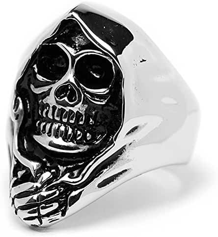 Stainless Steel Casted Skull Ring Sizes 9 to 15