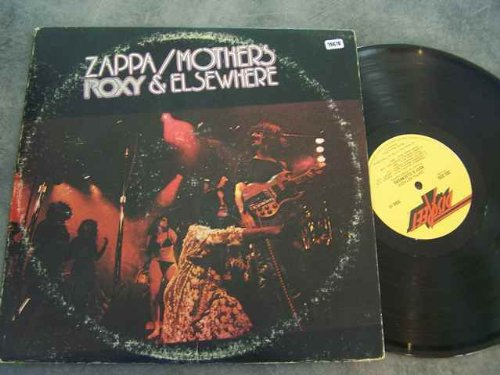 FRANK ZAPPA/MOTHERS 2LP, ROXY & ELSEWHERE, US ISSUE PRE-OWNED EX/EX (Pre Owned Vinyl)