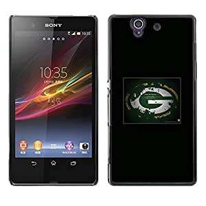 Bay Packers NFL Caja protectora de pl¨¢stico duro Dise?ado King Case For Sony Xperia Z L36H