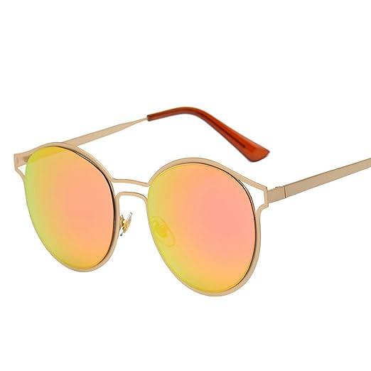 1c9f127a4 Amazon.com: AMOFINY Fashion Glasses Women Men Vintage Retro Unisex Fashion  Mirror Lens Sunglasses: Clothing