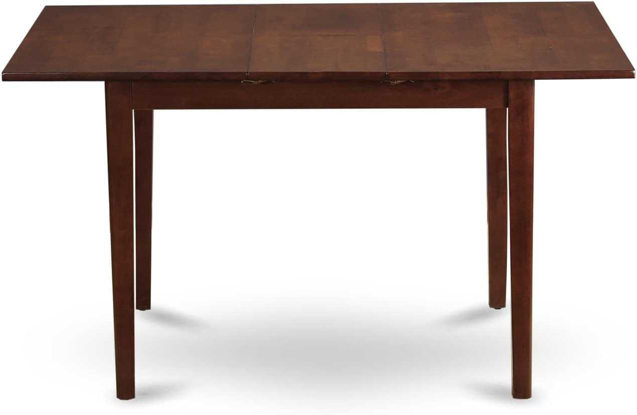 Norfolk rectangular table with 12 Butterfly Leaf -Oak Finish.