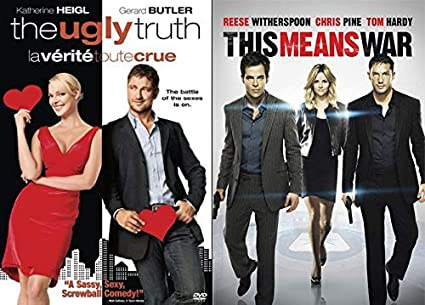 Amazon Com Watch Out Ladies Killers These Babes Know The Deal This Means War The Ugly Truth 2 Movie Rom Com Dvd Bundle Tom Hardy Gerard Butler Reese Witherspoon Katherine Heigl Tom