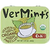 VerMints All Natural Chai Pastilles, 1.41-Ounce Tins (Pack of 6)