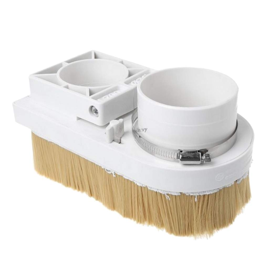 Dust Shoe Boot Cover Cleaner Brush for CNC Routers Engraving Milling Machine Accessories 80mm Spindle