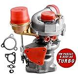 New Genuine Turbo Exact Fit Turbocharger for VW PASSAT & AUDI A4 1997-2006, AUTOSAVER88 1.8T Turbo Kit W/ Premium K03 Turbocharger & Gaskets, 1 Year Warranty