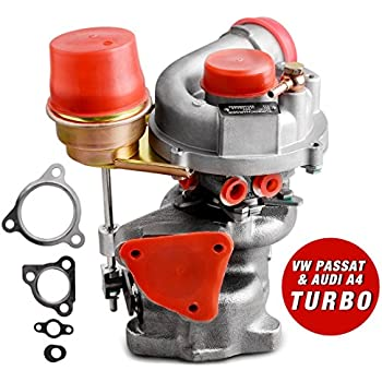New Genuine Turbo Exact Fit Turbocharger for VW PASSAT & AUDI A4 1997-2006, AUTOSAVER88 1.8T Turbo Kit W/ Premium K03 Turbocharger & Gaskets, ...