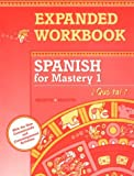 Spanish for Mastery 1, Jean-Paul Valette and Rebecca M. Valette, 0669313394
