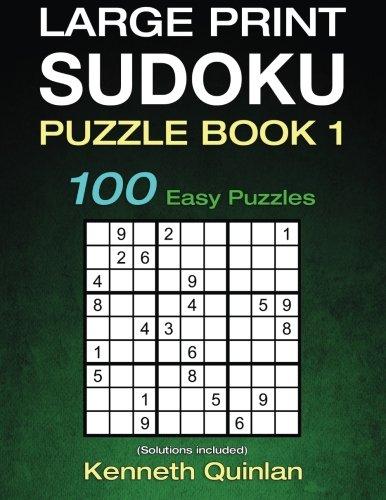 Large Print SUDOKU Puzzle Book product image