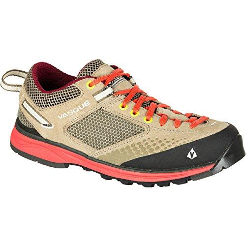 Vasque Women's Grand Traverse Hiking Shoe,Aluminum/Hot Coral,6 M US by Vasque
