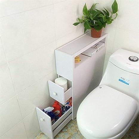 Miyare - Armadietto per il bagno impermeabile toilette da bagno in ...