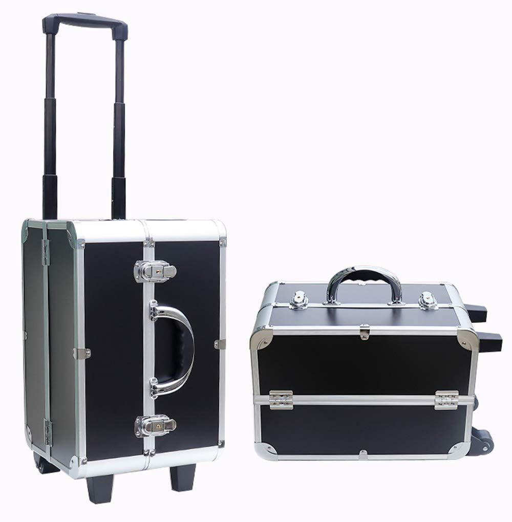 プロのトロリー化粧品ケース、 多層大容量旅行ビューティーボックス、  ネイルサロンタトゥーツール美容収納ボックスZDDABのための多機能  Normal type B07RKHJDML