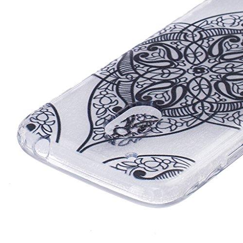 Trumpshop Smartphone Carcasa Funda Protección para Motorola Moto G (3rd Gen) G3 + Dont Touch My Phone del oso del bebé + Ultra Delgad Suave Flexibles TPU Silicona Resistente a arañazos Caja Protector Bird mal