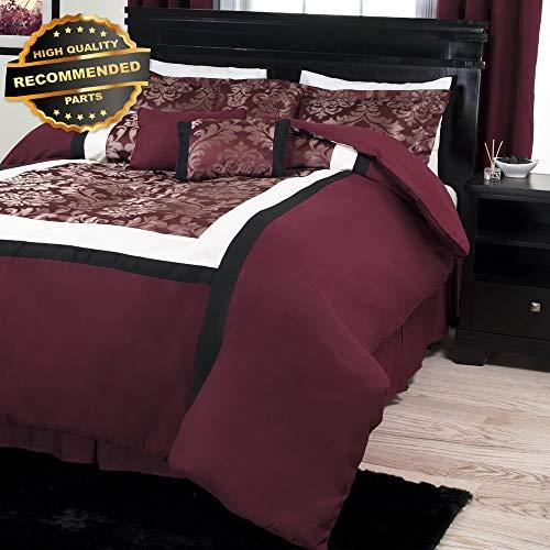 Gatton Premium New 7 Piece Candice Comforter Set Damask Victorian King Set   Style Collection -