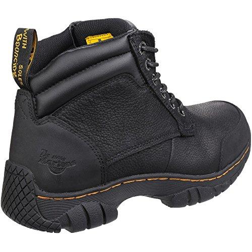 Dr Martens Mens Riverton SB Lace up Hiker Slip Resistant Safety Boots Black