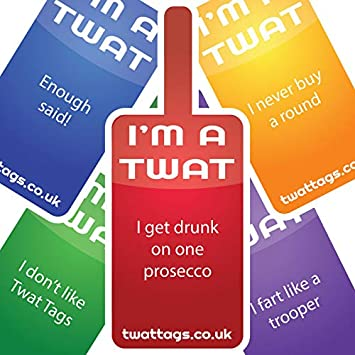 twattags game party pack ideal for stag hen do accessories work