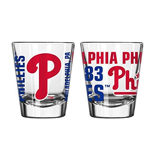 Boelter Philadelphia Phillies Glass - Philadelphia Phillies Spirit Shot Glass 2 oz.